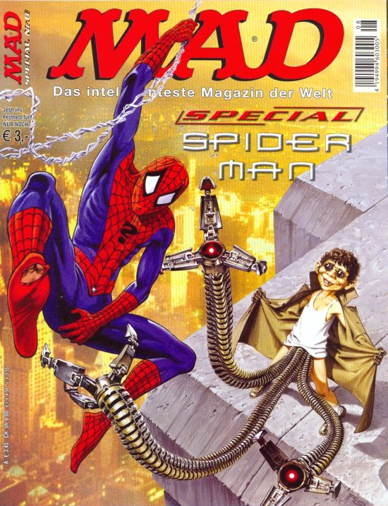 MAD Special #8 • Germany • 2nd Edition - Dino/Panini