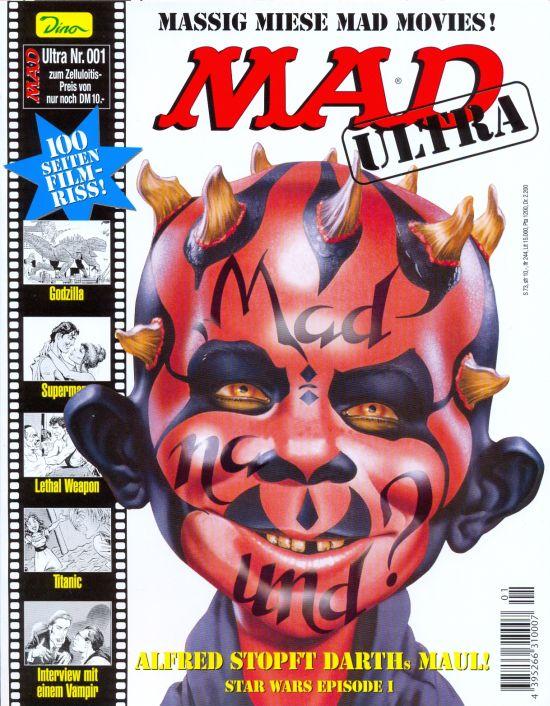 MAD Ultra #1 • Germany • 2nd Edition - Dino/Panini