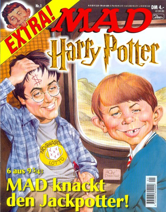 MAD Extra #1 • Germany • 2nd Edition - Dino/Panini