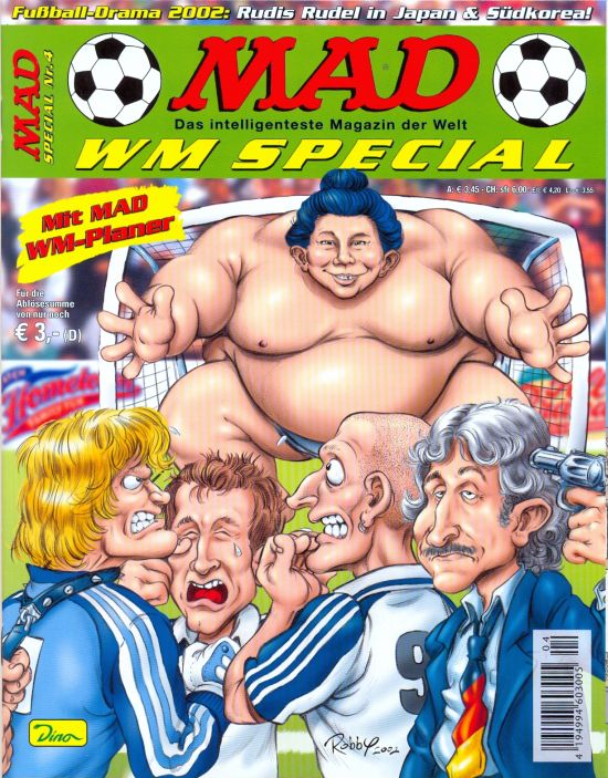 MAD Special #4 • Germany • 2nd Edition - Dino/Panini
