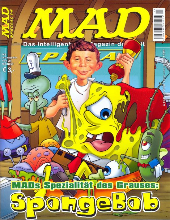 MAD Special #14 • Germany • 2nd Edition - Dino/Panini