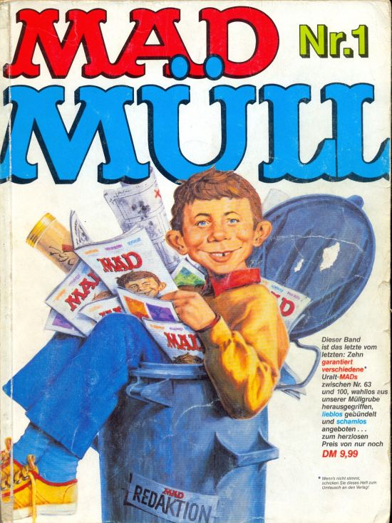 MAD Müll • Germany • 1st Edition - Williams