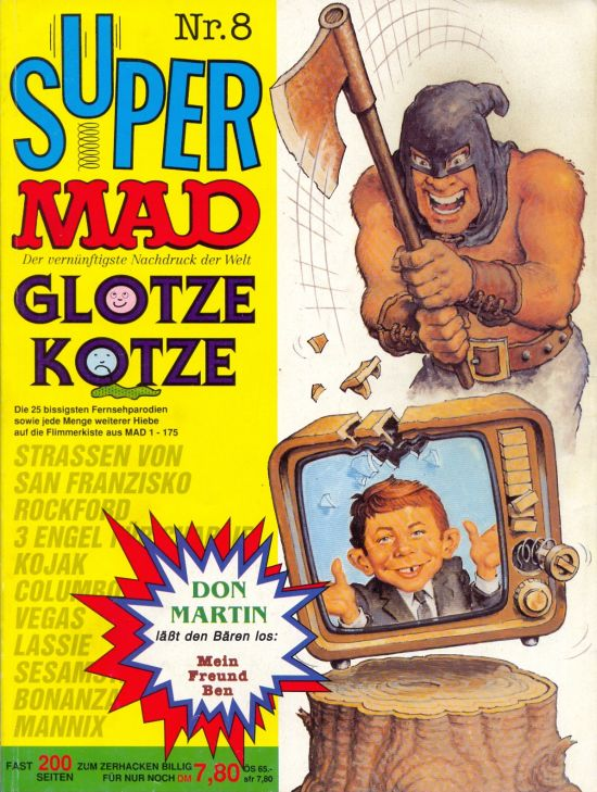 Super MAD #8 • Germany • 1st Edition - Williams