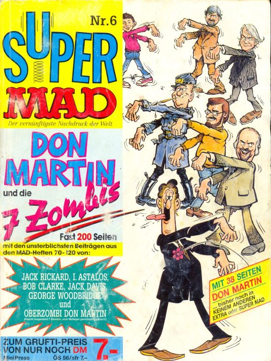 Super MAD #6 • Germany • 1st Edition - Williams