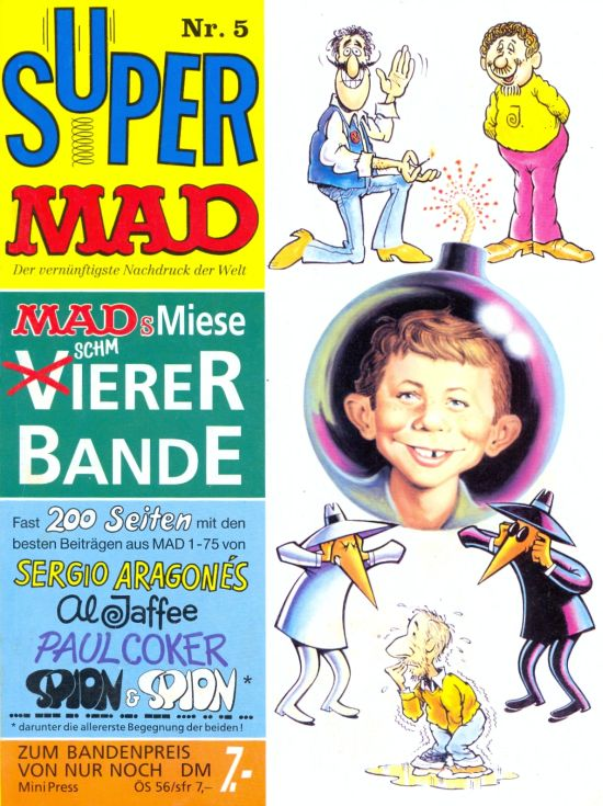 Super MAD #5 • Germany • 1st Edition - Williams