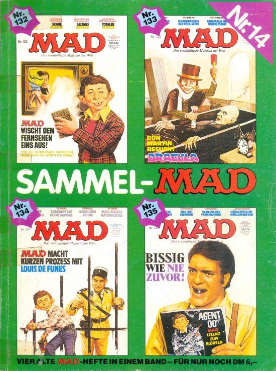 Sammel MAD #14 • Germany • 1st Edition - Williams