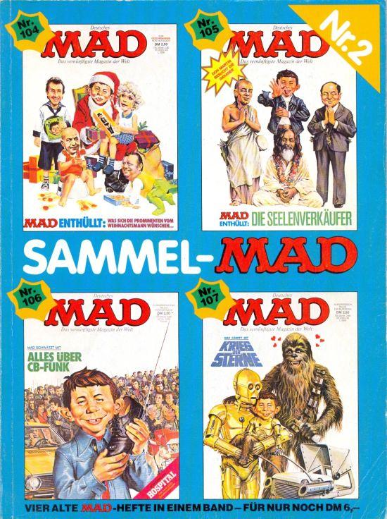 Sammel MAD #2 • Germany • 1st Edition - Williams