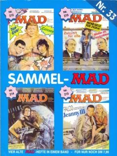 Go to Sammel MAD #33 • Germany • 1st Edition - Williams