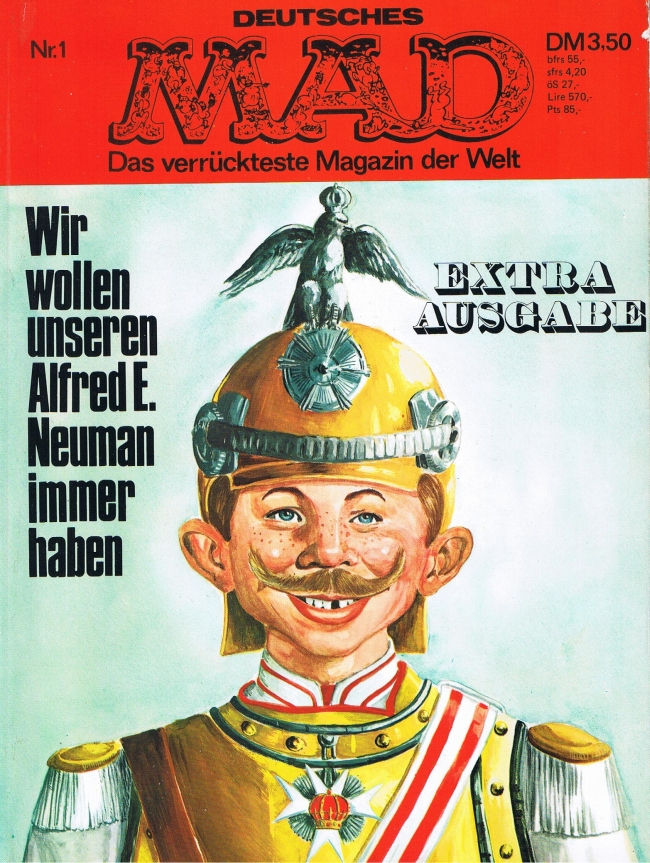 MAD Extraausgabe #1 • Germany • 1st Edition - Williams