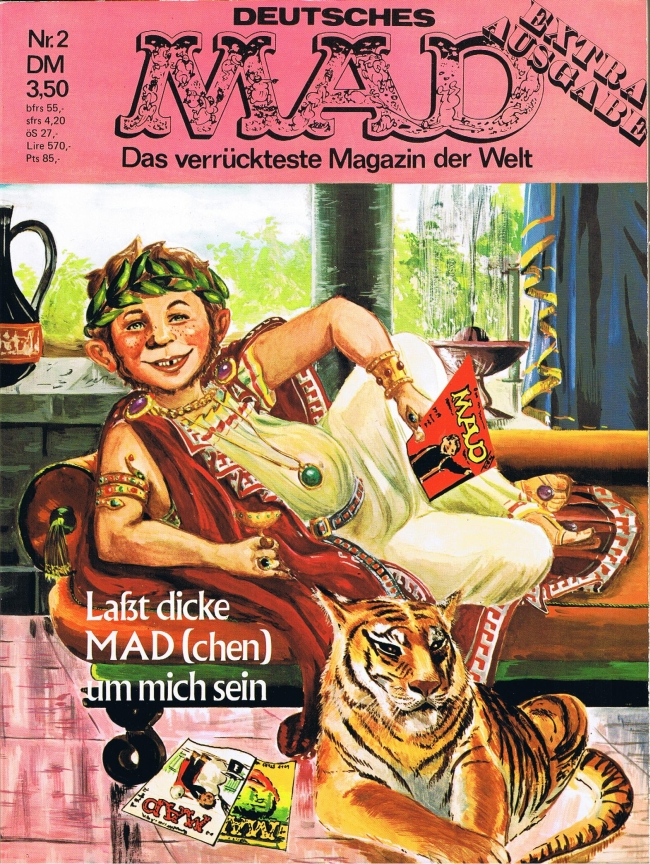 MAD Extraausgabe #2 • Germany • 1st Edition - Williams