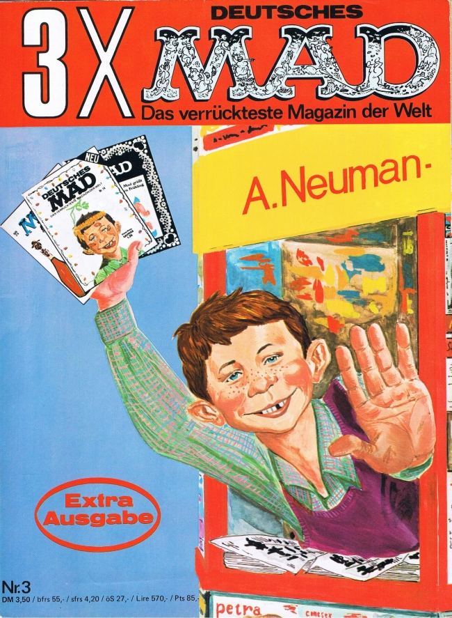 MAD Extraausgabe #3 • Germany • 1st Edition - Williams