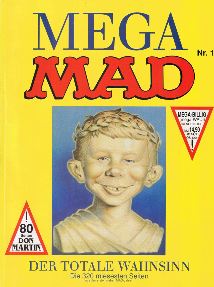 Mega MAD #1 • Germany • 1st Edition - Williams