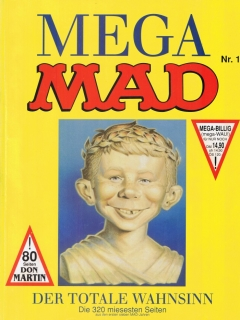 Go to Mega MAD #1 • Germany • 1st Edition - Williams