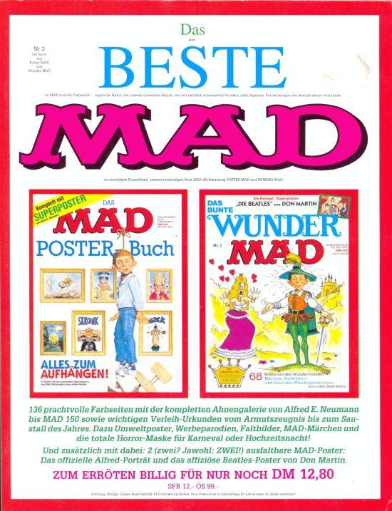 Das Beste MAD #3 • Germany • 1st Edition - Williams