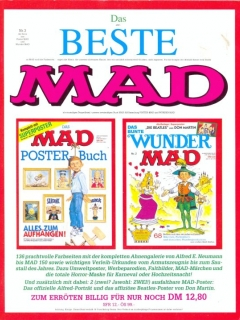 Go to Das Beste MAD #3 • Germany • 1st Edition - Williams