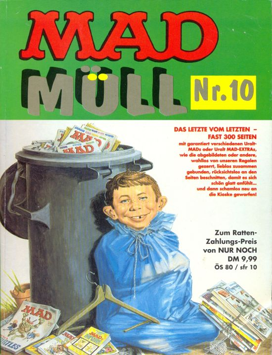 MAD Müll #10 • Germany • 1st Edition - Williams