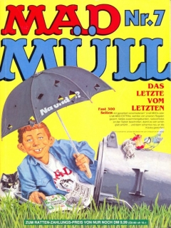 Go to MAD Müll #7 • Germany • 1st Edition - Williams