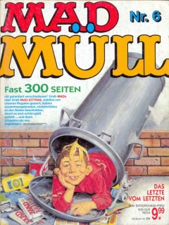 MAD Müll #6 • Germany • 1st Edition - Williams