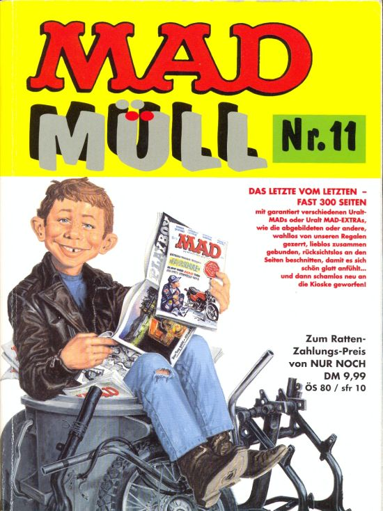 MAD Müll #11 • Germany • 1st Edition - Williams