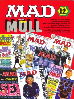 Go to MAD Müll #12 • Germany • 1st Edition - Williams