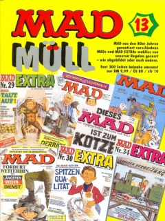 Go to MAD Müll #13 • Germany • 1st Edition - Williams