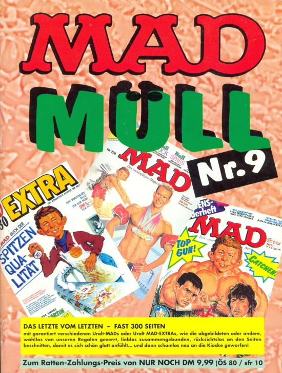 MAD Müll #9 • Germany • 1st Edition - Williams