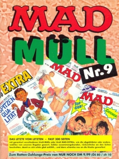 Go to MAD Müll #9 • Germany • 1st Edition - Williams