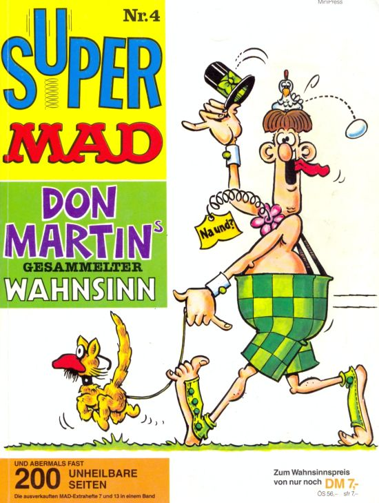 Super MAD #4 • Germany • 1st Edition - Williams