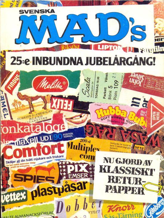 MAD Inbundna årgång #25 • Sweden