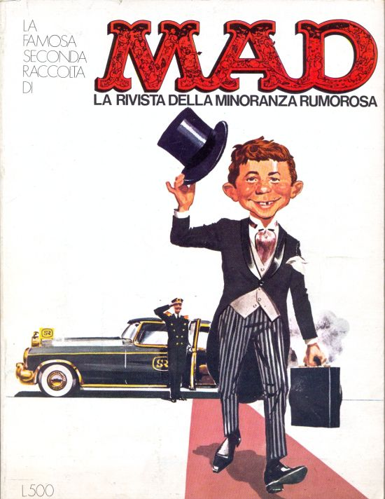 La Famosa seconda Raccolta di MAD #2 • Italy • 1st Edition