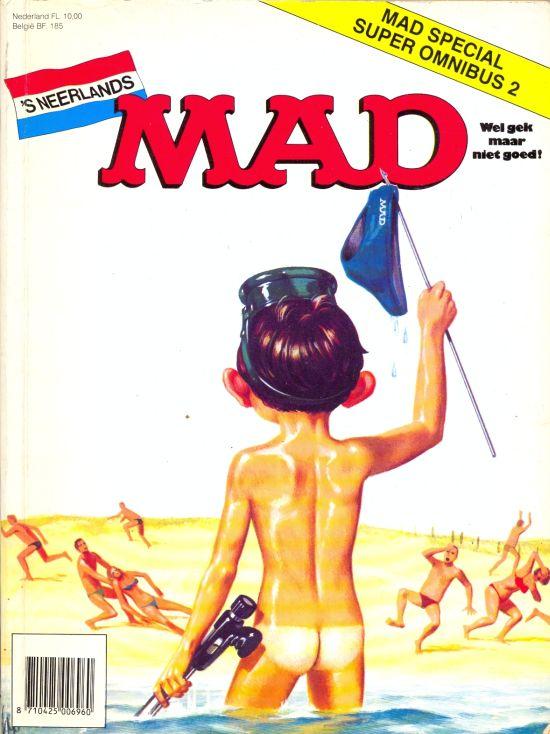 MAD Super Omnibus #2 • Netherlands • 1st Edition