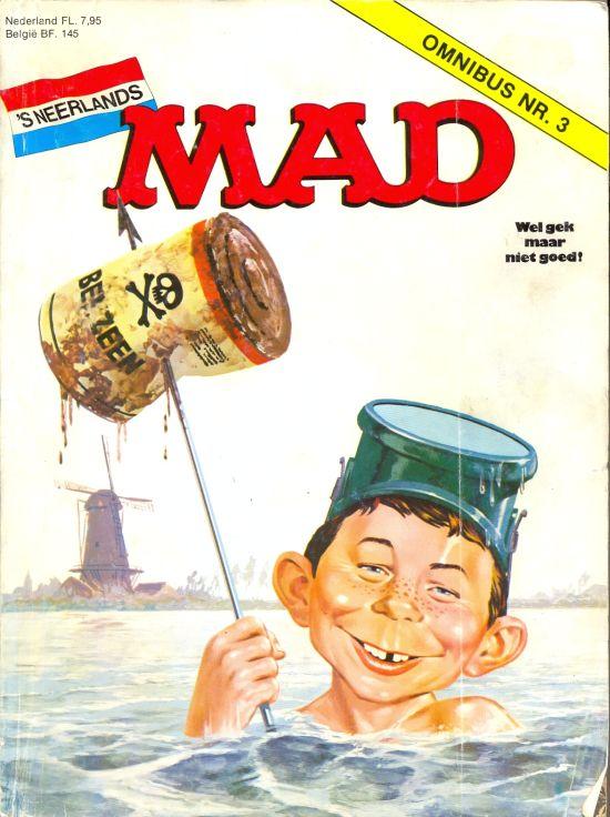 MAD Omnibus #3 • Netherlands • 1st Edition