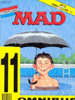 MAD Omnibus #11 • Netherlands • 1st Edition