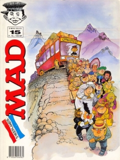 Go to MAD Omnibus #15