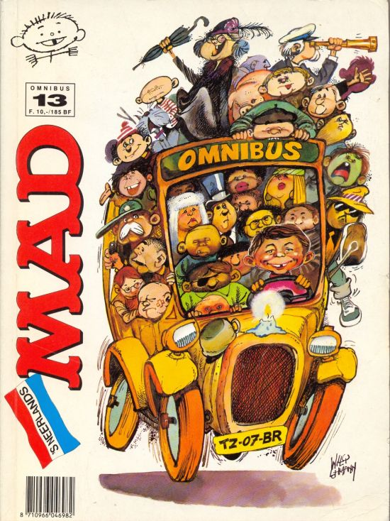 MAD Omnibus #13 • Netherlands • 1st Edition