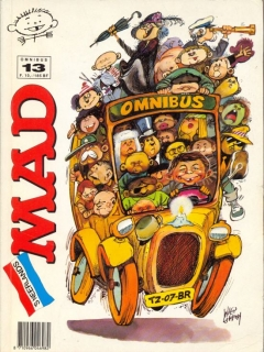 Go to MAD Omnibus #13 • Netherlands • 1st Edition