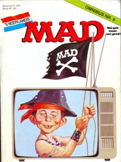 Go to MAD Omnibus #9 • Netherlands • 1st Edition