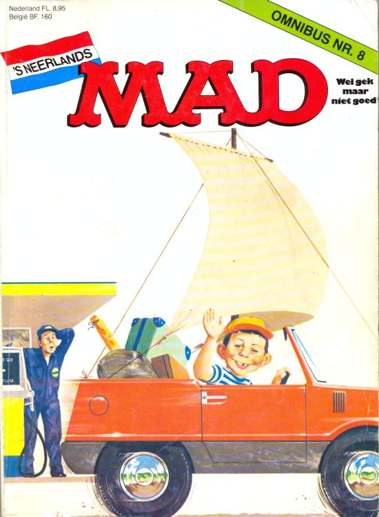 MAD Omnibus #8 • Netherlands • 1st Edition
