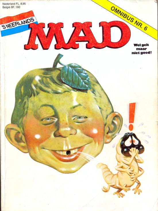MAD Omnibus #6 • Netherlands • 1st Edition