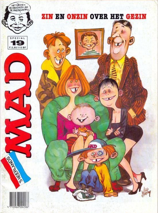 Het Mafste uit MAD #19 • Netherlands • 1st Edition