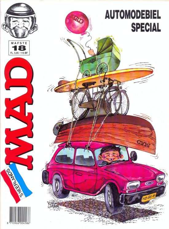 Het Mafste uit MAD #18 • Netherlands • 1st Edition