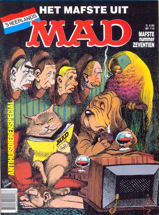 Het Mafste uit MAD #17 • Netherlands • 1st Edition