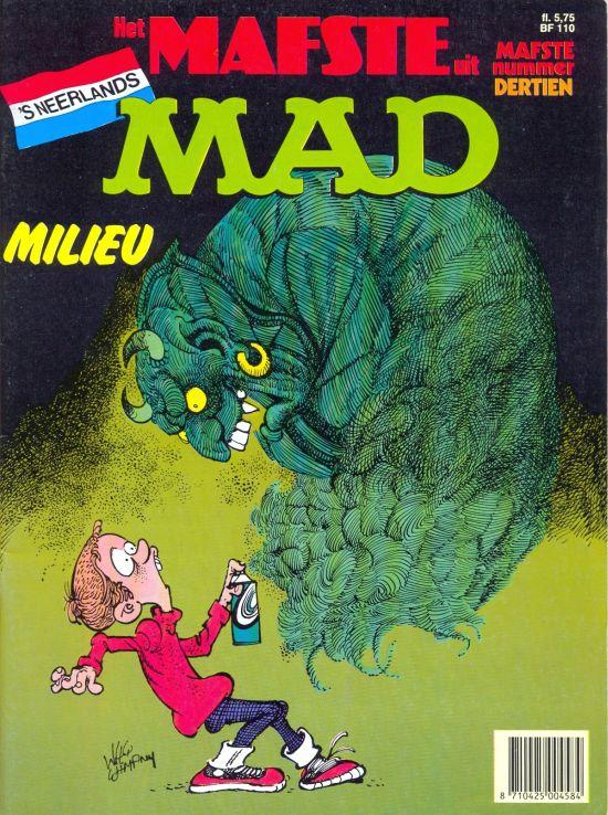 Het Mafste uit MAD #13 • Netherlands • 1st Edition