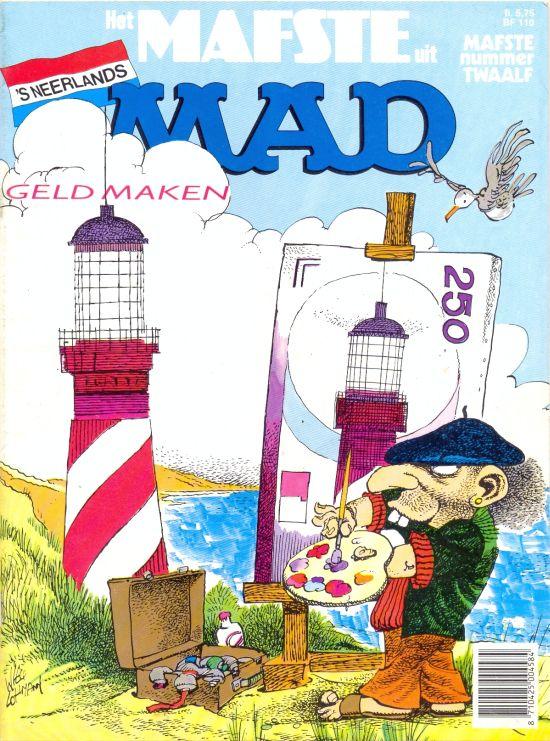 Het Mafste uit MAD #12 • Netherlands • 1st Edition