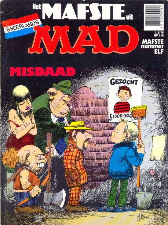 Het Mafste uit MAD #11 • Netherlands • 1st Edition