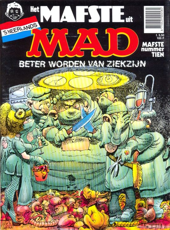 Het Mafste uit MAD #10 • Netherlands • 1st Edition