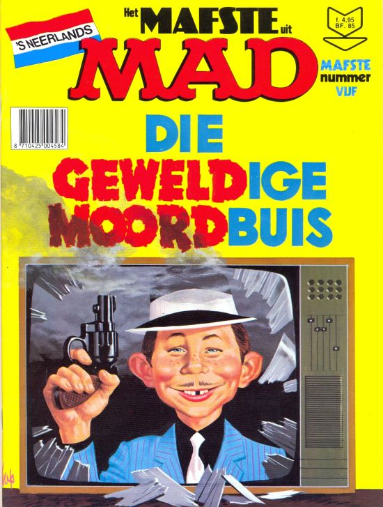 Het Mafste uit MAD #5 • Netherlands • 1st Edition