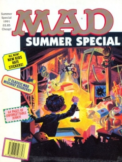 Go to MAD Summer Special 1991 • Great Britain