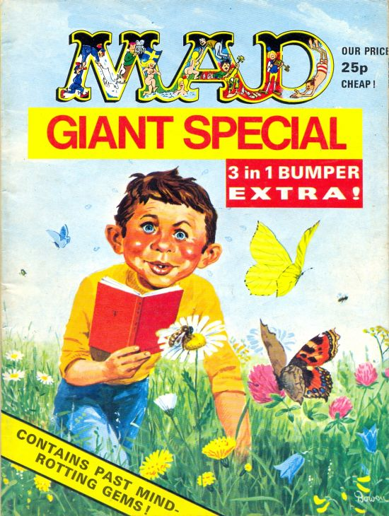 MAD Giant Special - 3 in 1 Bumber Extra • Great Britain