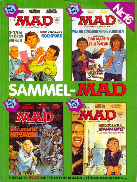 Sammel MAD #16 • Germany • 1st Edition - Williams